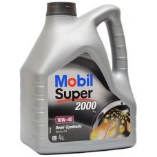 Масло моторное Mobil Super 2000 Х1 10W40 4л п/с