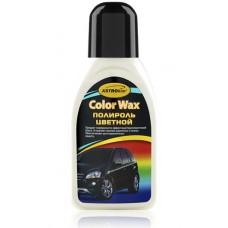 Полироль кузова белый 'Color Wax ', 'АСТРОХИМ'  Ac-282 флакон  250мл
