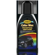 Полироль кузова  черный 'Color Wax' ,'АСТРОХИМ'  Ac-281флакон 250мл