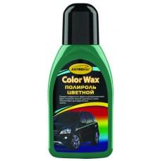 Полироль кузова  зеленый 'Color Wax' ,'АСТРОХИМ'  Ac-285  флакон 250мл