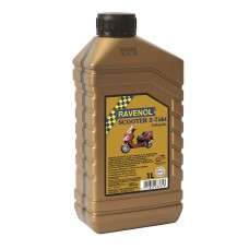 RAVENOL  2-Takt  Scooter синтетическое моторное масло для скутеров и мопедов 5л.