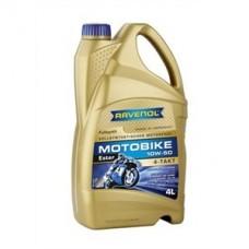 RAVENOL  4-Takt  Motobike 10W50 синтетическое моторное масло для мотоциклов 4л.