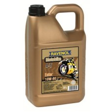 RAVENOL  4-Takt  Motobike 10W60 синтетическое моторное масло для мотоциклов 5л.