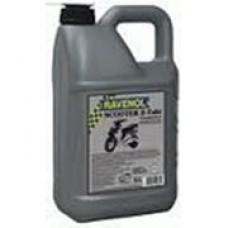 RAVENOL  4-Takt  Scooter  полусинтетическое моторное масло для скутеров и мопедов 5л.