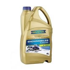 RAVENOL  4-Takt  Snowmobiles синтетическое моторное масло для снегоходов 5л.