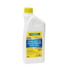 RAVENOL  антифриз TTC Premix (желтый готовый) 1,5л.