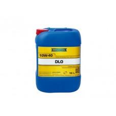 RAVENOL  DLO SAE 10W-40  дизельное полусинтетическое моторное масло  10л.