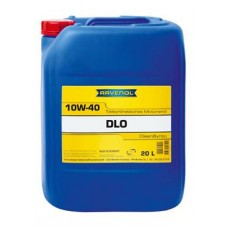 RAVENOL  DLO SAE 10W-40  дизельное полусинтетическое моторное масло  20л.