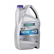 RAVENOL  DLO SAE 10W-40  дизельное полусинтетическое моторное масло  5л.