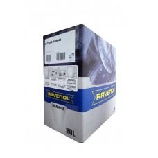 RAVENOL  DLO SAE 10W-40  дизельное полусинтетическое моторное масло  20л. ecobox