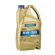 RAVENOL  DXG SAE 5W-30  синтетическое моторное масло  4л.
