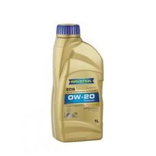 RAVENOL  ECS EcoSynth SAE 0W-20  синтетическое моторное масло  1л.