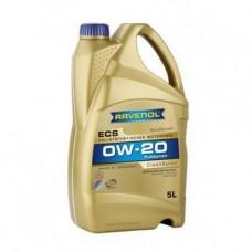 RAVENOL  ECS EcoSynth SAE 0W-20  синтетическое моторное масло  5л.