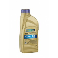 RAVENOL  EFE Extra Fuel Economy SAE 0W-16  синтетическое моторное масло  1л.