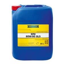 RAVENOL  Hyp.-EPX SAE 80W-90 GL-5 минеральное трансмиссионное масло  20л.