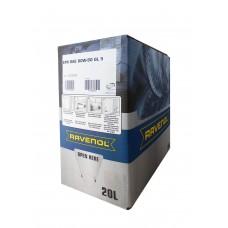 RAVENOL  Hyp.-EPX SAE 80W-90 GL-5 минеральное трансмиссионное масло  20л. ECOBOX