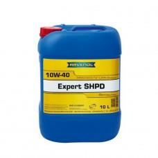 RAVENOL  Expert SHPD SAE 10W40  полусинтетическое моторное масло  10л.