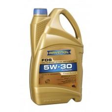 RAVENOL  FDS SAE 5W-30  синтетическое моторное масло  4л.