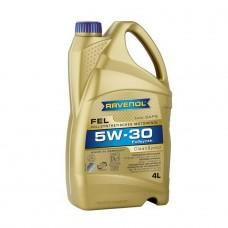 RAVENOL  FEL SAE 5W-30  синтетическое моторное масло  4л.