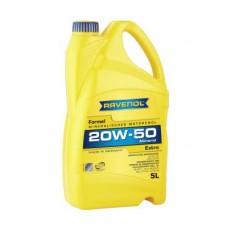 RAVENOL  Formel Extra 20W-50  минеральное моторное масло  5л.