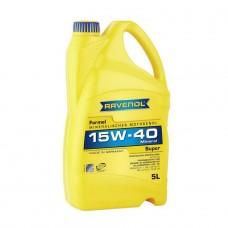 RAVENOL  Formel Super 15W-40  минеральное моторное масло  5л.