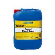 RAVENOL  Formel Super Diesel  10W-30 минеральное моторное масло  10л.