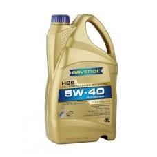 RAVENOL  HCS SAE 5W-40  синтетическое моторное масло  4л.
