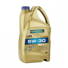 RAVENOL  LSG SAE 5W-30  синтетическое моторное масло  5л.