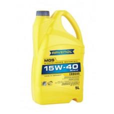 RAVENOL  MGS 15W-40  минеральное моторное масло для двигателей работающих на газе 5л.