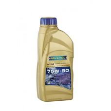 RAVENOL  MTF-2 SAE 75W-80  синтетическое трансмиссионное масло  1л.