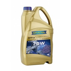 RAVENOL  MTF-3 SAE 75W  синтетическое трансмиссионное масло  4л.