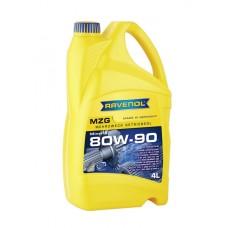 RAVENOL  MZG SAE 80W-90 GL-4  минеральное трансмиссионное масло  4л.