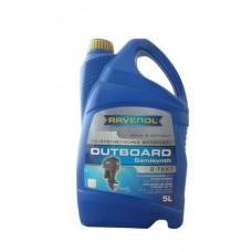 RAVENOL Outboardoel 2T полусинтетическое моторное масло для лодочных моторов  5 л