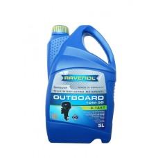 RAVENOL Outboardoel 4T 10w30 полусинтетическое моторное масло для лодочных моторов  5л