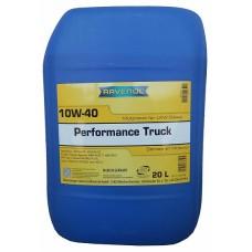 RAVENOL  Performance Truck 10W40  полусинтетическое моторное масло  20л.