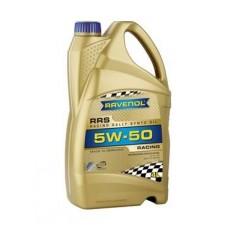RAVENOL  RRS Racing Rally Synto 5W-50  полусинтетическое моторное масло  4л.