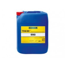 RAVENOL  SSG SAE 75W-80 GL-4 MAN 341 Typ SL синтетическое трансмиссионное масло  20л.
