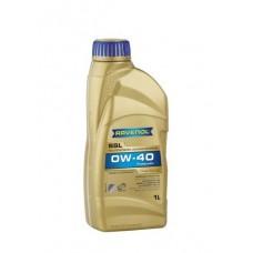 RAVENOL  SSL SAE 0W-40  синтетическое моторное масло  1л.