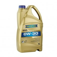 RAVENOL  SSO SAE 0W-30  синтетическое моторное масло  4л.