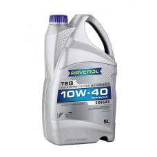 RAVENOL  TEG 10W-40  полусинтетическое моторное масло для двигателей работающих на газе 5л.