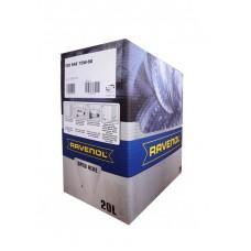 RAVENOL  TGO SAE 75W-90 GL-5 полусинтетическое трансмиссионное масло 20л. ECOBOX