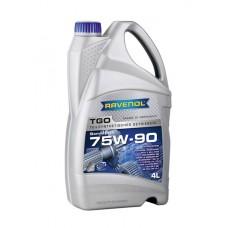 RAVENOL  TGO SAE 75W-90 GL-5 полусинтетическое трансмиссионное масло  4л.