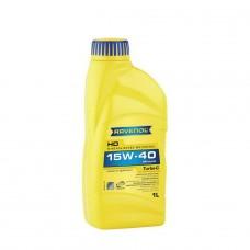 RAVENOL  Turbo-C HD-C 15W-40  минеральное моторное масло  1л.