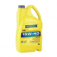 RAVENOL  Turbo-C HD-C 15W-40  минеральное моторное масло  5л.