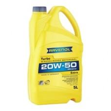 RAVENOL  Turbo Extra 20W-50  минеральное моторное масло  5л.