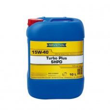 RAVENOL  Turbo plus SHPD 15W-40  минеральное моторное масло  10л.