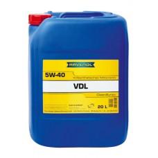 RAVENOL  VDL SAE 5W-40  дизельное синтетическое моторное масло  20л.