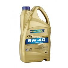 RAVENOL  VDL SAE 5W-40  дизельное синтетическое моторное масло  4л.