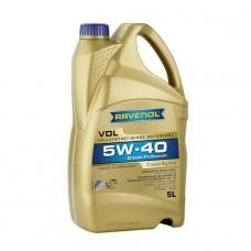 RAVENOL  VDL SAE 5W-40  дизельное синтетическое моторное масло  5л.