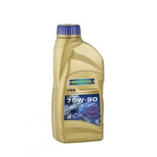 RAVENOL  VSG SAE 75W-90 GL-5/GL-4 синтетическое трансмиссионное масло 1л.